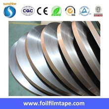 Alu PET tape of aluminum foil laminated with polyester film