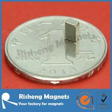 Magnet Rare Earth N38 5 x 3 x 2mm Cheap Neodymium Magnet Block