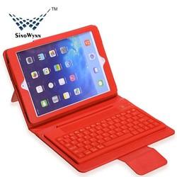 Bluetooth Keyboard for iPad Air, PU Case for iPad 5