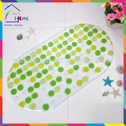 Print dots top quality hot sell anti-slip front door mat monogrammed