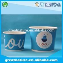 Innovative Printed Frozen Yogurt Cups