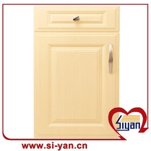 pvc wooden door for sliding door bathroom mirror cabinet