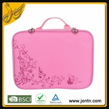 Flower printed Neoprene Laptop sleeve 10.2""