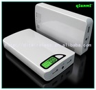 factory portable portable cell phone charger power bank led