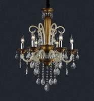 Design Promotional Chihuly Style Chandelier Yeast European