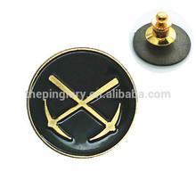 Metal Axes Soft Enamel Lapel Pin