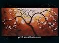 Moderne, maisondécor monet peinture à l'huile d'arbre arrivée de nouveaux