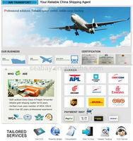 Seabay China air freight cargo to Dhaka