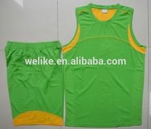 100polyester sublimation team jersey basketball design