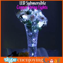 Wholesale Submersible Waterproof String Light Battery Sources Vase Base Decor