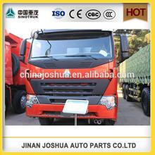 sinotruck 8X4 12 wheel 375hp howo a7 high load dump truck