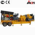 CE& certificata iso9001 frantoio mobile usato per il trattamento di rifiuti da costruzione