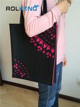 2014 unique diy felt shoulder bag