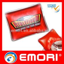 popular customized shape full color print neck reusable reusable hand warmer