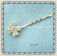 Kaka pearl flower hair pin fasteners