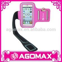 Personalized promotional gift adjustable PU phone armband case