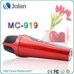 Jolan High Quality mini Karaoke Player MC-919 for laptop or PC karaoke mixer for singing