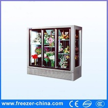 Glass door direct cooling used fresh flower cooler