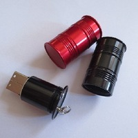 metal oil drums USB flash drive , cool promotion gifts