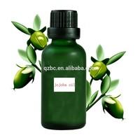 yellow or colorless and odorless riching in vitamin E organic jojoba oil