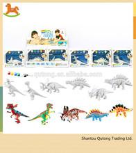 Painting dinosaur educational toy /kid educational toy /painting educational toy