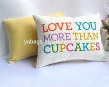 Popular decorative 100% polyester cushion YA-C02