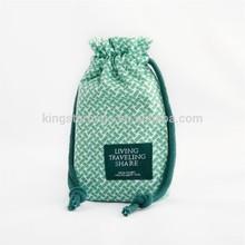 Custom Drawstring Small Cotton Sling Bag