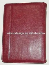 High Quality Genuine Leather Custom Leather Bible Book Cover