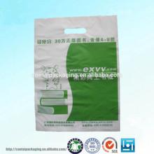 hot sale plastic bag t-shirt durable