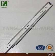 45mm ivory 3 fold kitchen cabinet drawer slide parts
