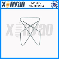 Stainless steel butterfly paper clip