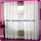 Ready made linen sheer curtain, modern window curtain design