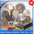 high purity 99.995% 4n5 forged 3n8 4n 4n5 titanium target
