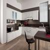 unique design high gross blue kitchen modular kitchen design