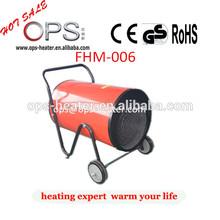 22KW Blower heater industrial fan heater 400V