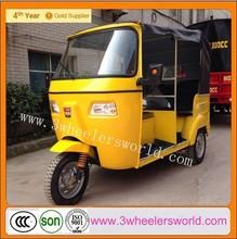 China 200cc Bajaj three wheel motorcycle/ Bajaj passenger motor tricycle/Bajaj auto rickshaw tuk tuk