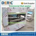 Lavavajillas industrial con el secado y esterilización de 1000-- 8000pc/hora