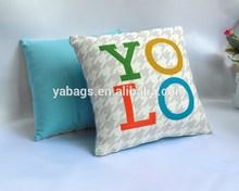 2014 New design colorful home sofa cushion YA-C06