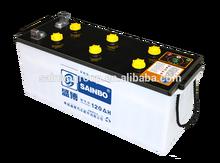 12V 150AH Brand Lead Acid Dry Car Battery N150 Truck Battery