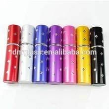 10ML Fashion Refillable Empty Atomizer Travel Perfume Bottles Spray Colorful Metal Bottle