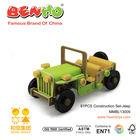 Construction Set-Jeep Car (81PCS) Wooden Toy Children Motor Car Toy