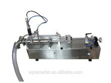 Hihg flexibility and precision multifunctional semi-automatic desk liquid filling machine