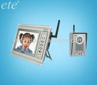Color CMOS CCD Camera and 110-240V 12V DC adapter Power wireless intercom for home