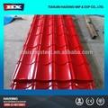 시트 금속 지붕 사용