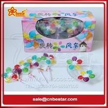 Colourful Rainbow Fruit Windmill Lollipop