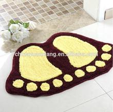 footprint bath mat, Leading Chinese Factory