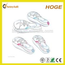 Publicidad inflable de plástico zapatos para la promoción