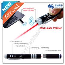 iR100 Remote laser pointer presenter pen , powerpoint wireless presentation