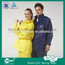 Fashional cheap yellow rain suit