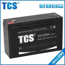 Uninterruptible power supply 6v 10ah battery